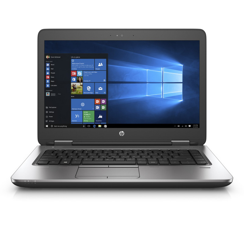 HP ProBook 640 G2; Core i5 6300U 2.4GHz/8GB RAM/256GB M.2 SSD/battery VD